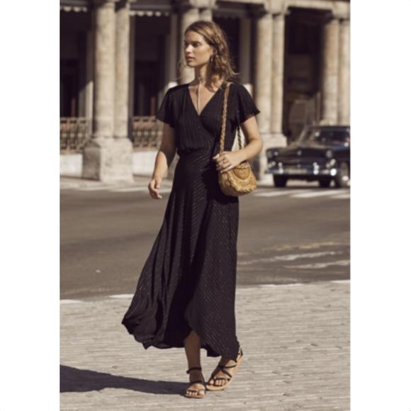 5a3860e57c7b Auguste the label Dresses & Skirts - Auguste ISABELLA MUSE Black Wrap Maxi  Dress 4 NWOT